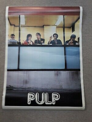 Original Poster Of The Band Pulp • 20£