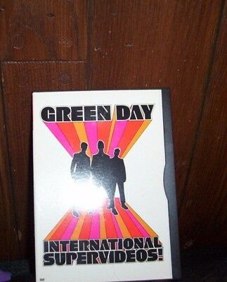 Green Day - International Supervideos! (DVD, 2001) Free Shipping! • 9.44£