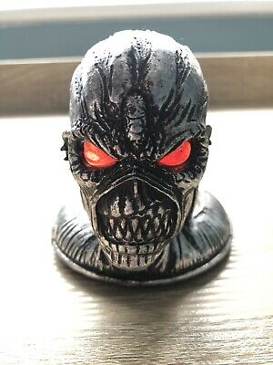 Official Iron Maiden Book Of Souls T-Light Candle Holder Glowing Eyes Eddie • 35£
