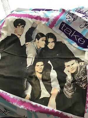 Vintage Single Take That Duvet Cover And Pillow Case Great Condition • 4.20£