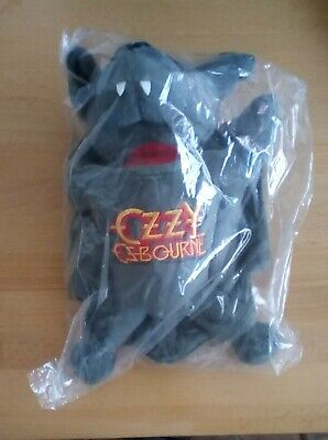 Ozzy Osbourne Plush Bat Toy Removable Head Official NEW Sealed • 55£