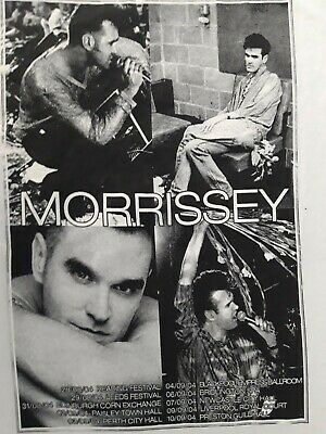 Morissey You Are The Quarry T-shirt Concert Tour Pre Owned ExCondition Size M • 15£