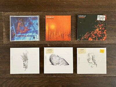 Coldplay CD Single Bundle From Pre-first Album To Second Album • 9.99£