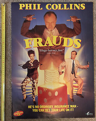 Phil Collins 'Frauds' Movie Poster (59.5cm X 42cm) From 1993 • 5£