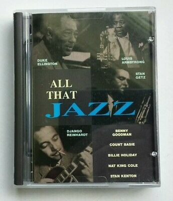 All That Jazz MiniDisc Album MD Music Ft. Basie, Ellington Etc. Very Rare Disky • 100£