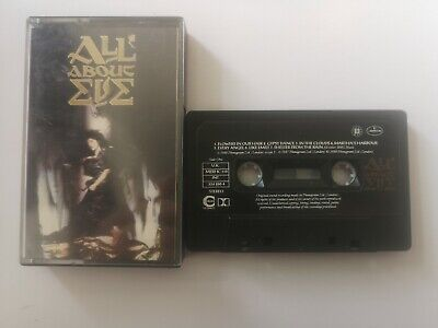 All About Eve- All About Eve (1988) Cassette. Very Good Condition.  • 1£