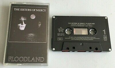 THE SISTERS OF MERCY - FLOODLAND  Music Cassette Tape (MR 441 C) • 5.99£