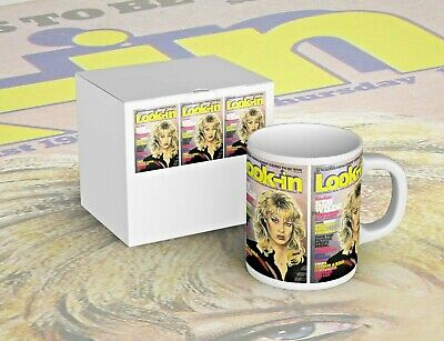 Striking Kim Wilde LOOK-IN Covers Mug - New In Picture Box - Free P+P • 7.99£