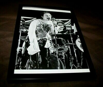 JOHNNY ROTTEN VICIOUS SEX PISTOLS Framed London Marquee GOD SAVE THE QUEEN 1977 • 8£