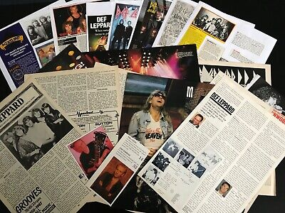 Def Leppard: (12) Articles & Cuttings  • 7.50£