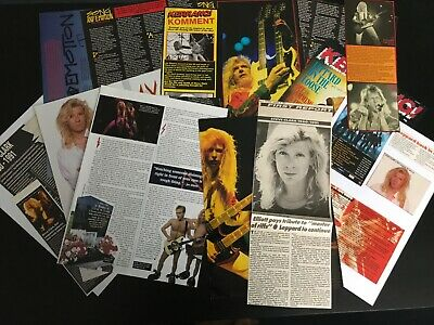 Steve Clark - Def Leppard: Articles & Cuttings  • 20£