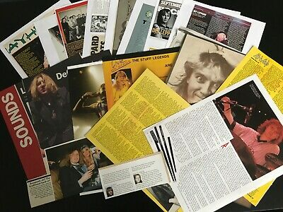 Def Leppard: (14) Articles & Cuttings  • 7.50£