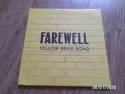 Elton John Farewell Yellow Brick Road Tour - Vip Gift Bag With Memorabilia • 65£