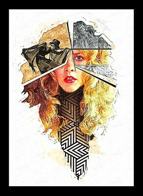 Stevie Nicks - Fleetwood Mac - Fine Art Print A3 • 13£
