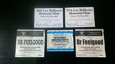 Dr Feelgood & Lee Brilleaux Memorial Tickets • 2.50£