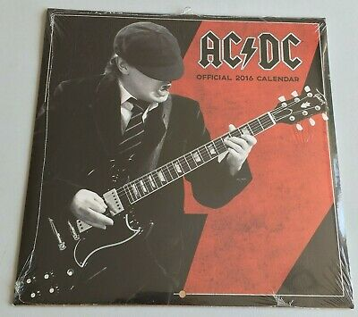 Ac/dc - Official 2016 Calender - New & Sealed • 5.99£