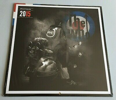 The Who - Official 2015 Calender - New & Sealed • 6.99£