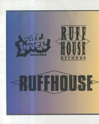 (hfbk79) Poster/advert 26x11  Ruffhouse House Records • 26.99£