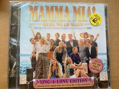 Mamma Mia! Here We Go Again [Audio CD] New & Sealed • 3.71£