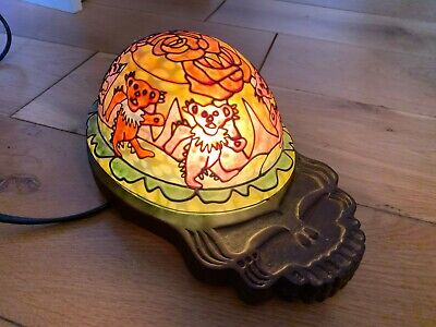 EXTREMELY RARE*** Grateful Dead Lamp Deadhead Skull (UK SHIPPING ONLY) • 40£