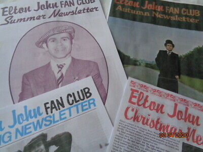 Large Box Of Elton John Memorabilia • 235£