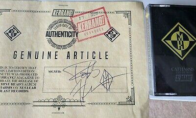 Machine Head Catharsis The Demos & Robb Flynn Signatur Certificate (RARE, Mint)  • 45£