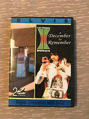 Elvis DVD 2 Disc A December To Remember Vegas Christmas With Elvis RARE JUMPSUIT • 12.50£