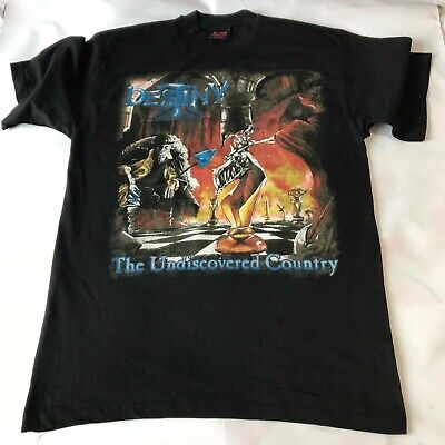 DESTINY The Undiscovered Country RARE Large Vintage T-Shirt From 1998 • 19.99£