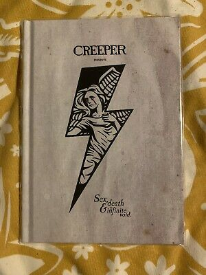 Creeper Sex, Death & The Infinite Void Signed Lyric Book • 25£
