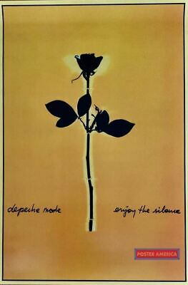 Depeche Mode Enjoy The Silence Reproduction U.K. Import Poster 24 X 36 Rose With • 11.98£