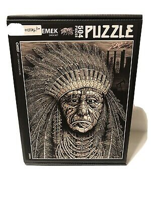 """Pearl Jam """"Chief"""" Puzzle Emek Limited To 64 • 111.09£"""