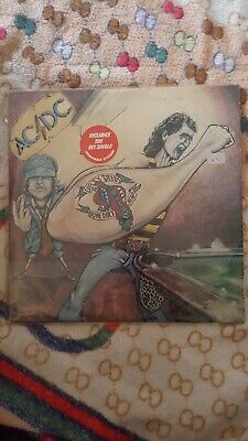 ULTRA RARE DIRTY DEEDS   1st PRESSING ON ROO NEVER PLAYED, WITH INNER SLEEVE • 270£