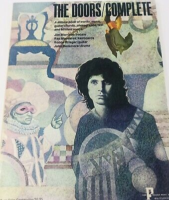 The Doors Complete Rare Songbook 1972 • 12.70£