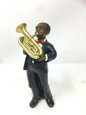 Baritone Player Figurine Sculpture Jazz Blues Musician Brass Statue • 26.95£