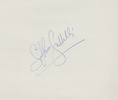 Stephane Grappelli Hand Signed Album Page • 40£