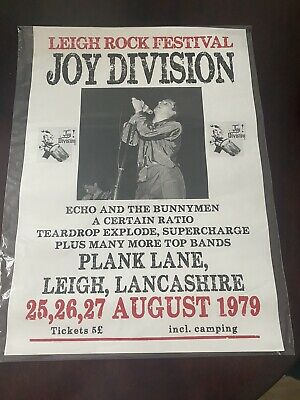 Joy Division Gig Concert Music Poster *VERY RARE* • 10.50£