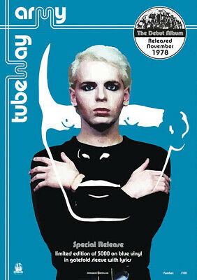 TUBWAY ARMY - The 'BLUE' Album (GARY NUMAN) A2 Posters Numbered Ltd 100 NEW • 15£