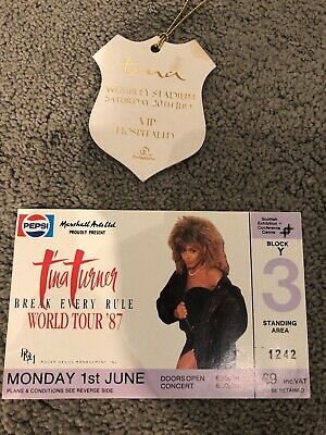 Tina Turner Collectable Collectors Items 1996 VIP • 10£
