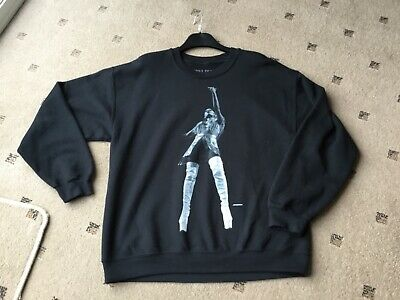 Ariana Grande Official Sweetener World Tour Middle Finger Crew Neck Size Large • 90£