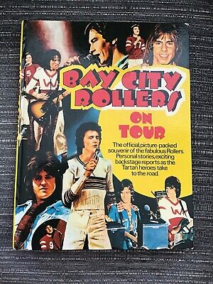 Bay City Rollers On Tour Hardback Book 1975 • 4.99£