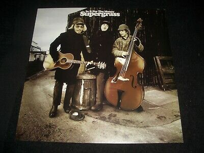 Supergrass - In It For The Money    Shop Display • 4.99£