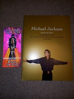Michael Jackson London O2 This Is It Concert Holographic Ticket And Program,new  • 83£
