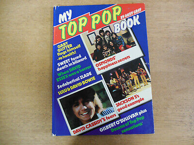 My Top Pop Book 1974 By Andy Gray • 10£
