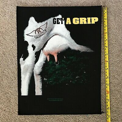 AEROSMITH RARE Get A Grip UK BACK PATCH From 1993 • 6.99£