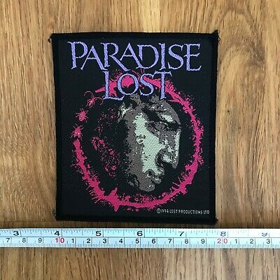 PARADISE LOST Rare UK 1994 Embroidered Sew On Patch • 5.99£