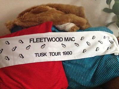 Official 1980 Fleetwood Mac Tusk Tour Scarf Excellent Condition. • 37.50£