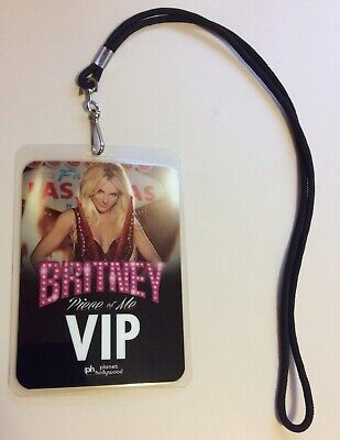 Britney Spears Official Piece Of Me Tour Vip Laminate From Meet & Greet • 75.04£