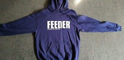 FEEDER COMFORT IN SOUND CONCERT TOUR Vintage Hoodie Unworn Condition Large • 10£