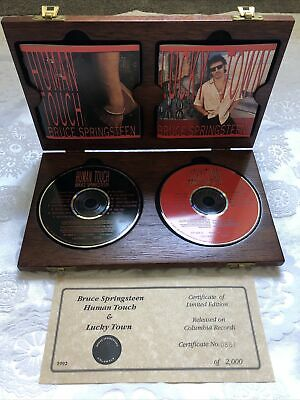 COLLECTORS ITEM Rock MEMORABILIA Box Set BRUCE SPRINGSTEEN Certified • 75£