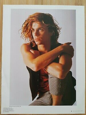 MICHAEL HUTCHENCE Magazine Picture Cutting Poster App 22x30cm  • 3.95£